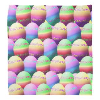 Pañuelo colorido de los huevos de Pascua Bandana