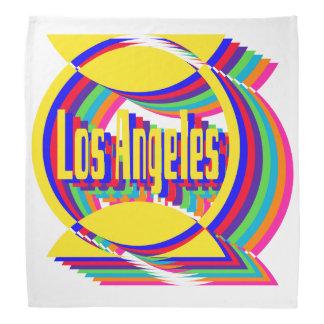 Pañuelo combinado 1 del color de Los Ángeles Bandana