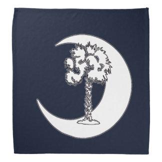 Pañuelo de la bandera del Palmetto de Carolina del Bandanas