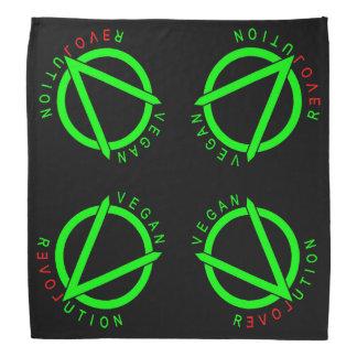Pañuelo de la revolución del vegano bandanas