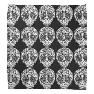 Pañuelo de los cráneos del azúcar - día del arte bandanas