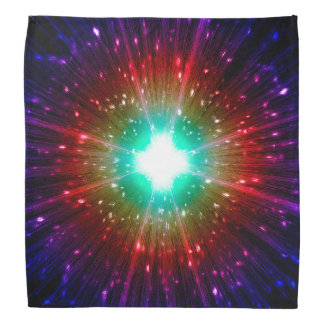 Pañuelo de Spirial del universo por Krystyna Bandana