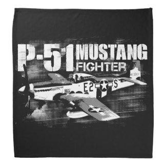 Pañuelo del mustango P-51 Bandana