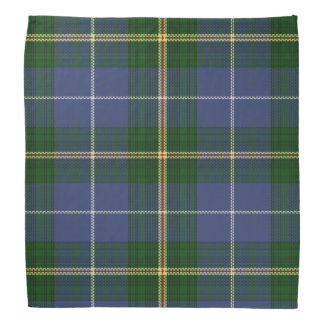 Pañuelo del pañuelo del tartán de Nueva Escocia Bandana
