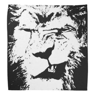 Pañuelo enojado del león bandanas