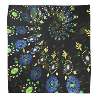 Pañuelo espiral colorido del arte de MadBill Bandanas