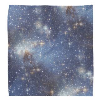 Pañuelo estrellado del espacio bandanas