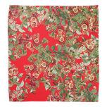 Pañuelo floral de Audubon de las flores de los Bandana