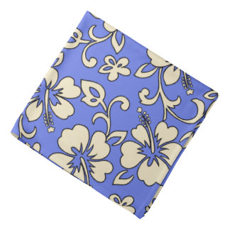 Pañuelo hawaiano de la camisa de hawaiana del hibi bandana