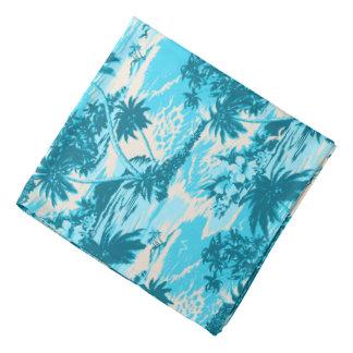 Pañuelo hawaiano escénico de la camisa de hawaiana bandana