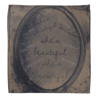 Pañuelo hermoso del espejo del Grunge Bandanas