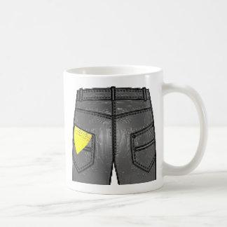 Pañuelo izquierdo amarillo taza