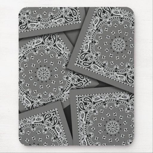 Pañuelo Mousepad del carbón de leña Tapetes De Ratón