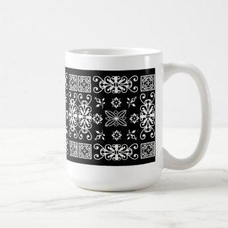 Pañuelo negro taza