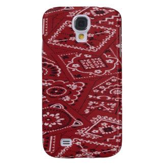 Pañuelo rojo 3G/3GS del granero Samsung Galaxy S4 Cover