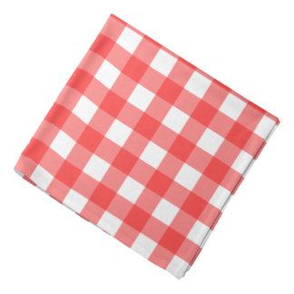 Pañuelo rojo de la guinga bandanas