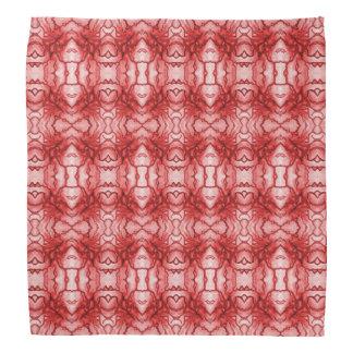 """Pañuelo rojo del diseño del """"nervio"""" bandanas"""