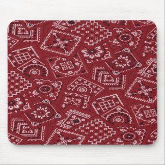 Pañuelo rojo Mousepad del granero occidental del e