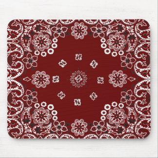 Pañuelo rojo occidental Mousepad