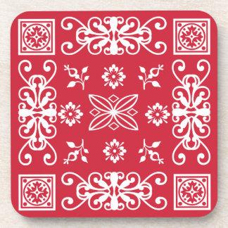 Pañuelo rojo posavaso