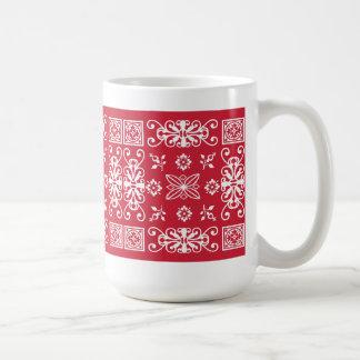 Pañuelo rojo taza clásica