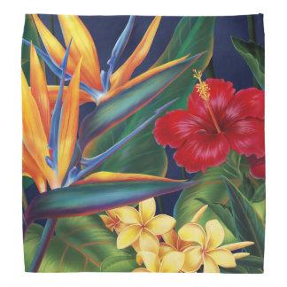 Pañuelo tropical del Hawaiian del paraíso Bandanas