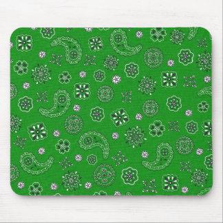 Pañuelo verde Mousepad