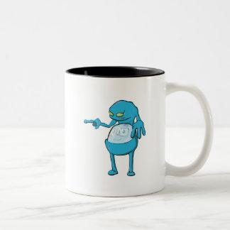 panza de tommy dentro del azul aterronado del mons taza