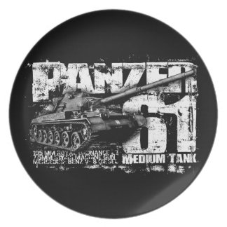 Panzer 61 Party Plate
