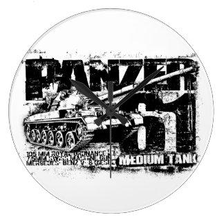Panzer 61 Wall Clock