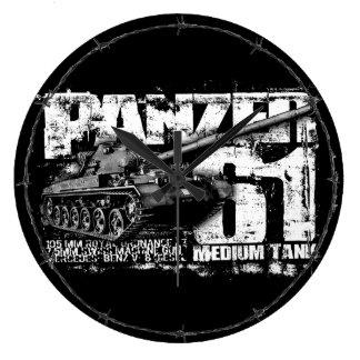 Panzer 61 Wallclocks