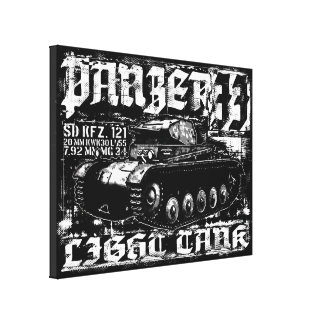 Panzer II Wrapped Canvas