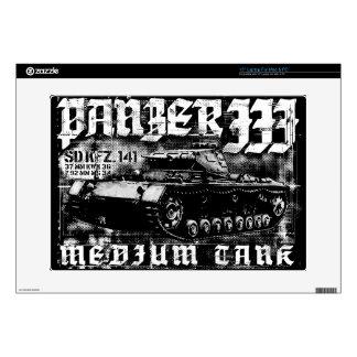 """Panzer III 15"""" Laptop For Mac & PC Skin 15"""" Laptop Skin"""