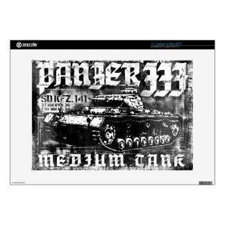 """Panzer III 15"""" Laptop For Mac & PC Skin Laptop Decals"""