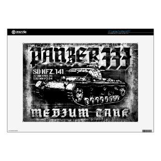 """Panzer III 15"""" Laptop For Mac & PC Skin Skin For Laptop"""