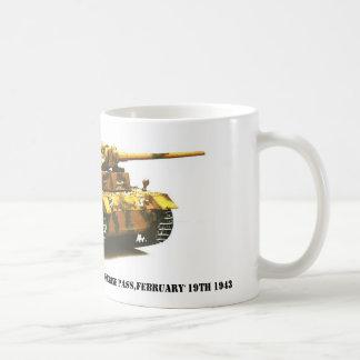 Panzer III Deutsches Afrikakorps Kass... Classic White Coffee Mug