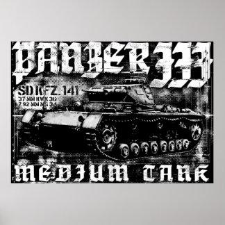 Panzer III Print