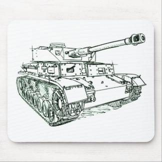 Panzer IV 4 German Tank Mouse Pad