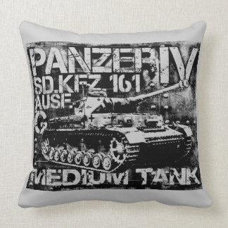 Panzer IV Grade A Cotton Throw Pillow 20x20