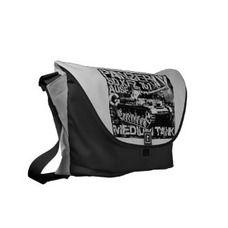 Panzer IV Outside Print Bag Messenger Bags