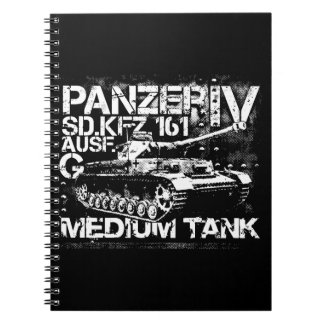 Panzer IV Photo Notebook (80 Pages B&W)