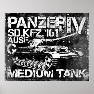 Panzer IV Poster