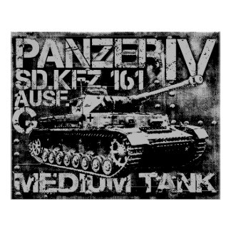 Panzer IV Print