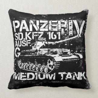Panzer IV Throw Pillow