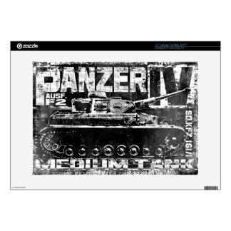 "Panzer IV Vinyl Device Protection Skin Decals For 15"" Laptops"