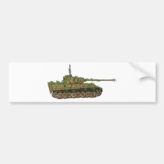 Panzer VI Tiger89 Etiqueta De Parachoque