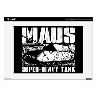 """Panzer VIII Maus 15"""" Laptop For Mac & PC Skin Decals For 15"""" Laptops"""