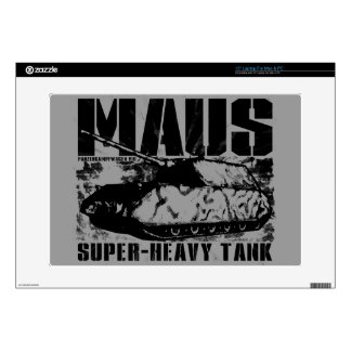 """Panzer VIII Maus 15"""" Laptop For Mac & PC Skin Decals For Laptops"""