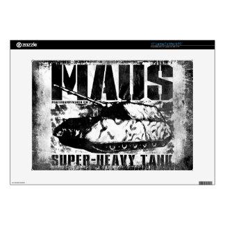 """Panzer VIII Maus 15"""" Laptop For Mac & PC Skin Skin For 15"""" Laptop"""