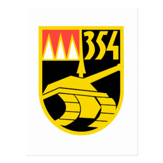 Panzerbataillon 354 postcard
